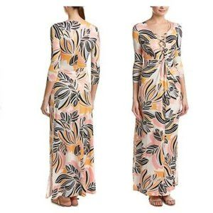 Yumi Kim ONe & Only Floral Jersey Maxi Dress XS